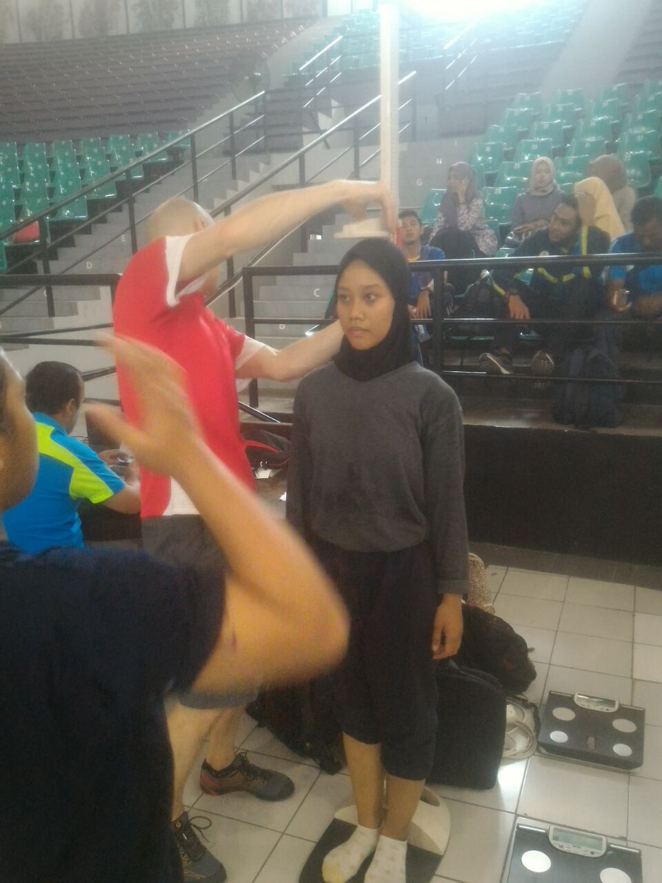Tes Fisik oleh Trainer Edith Cowan University