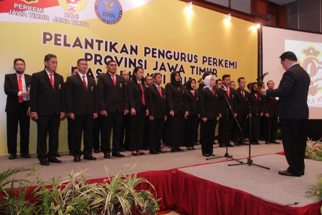 Pelantikan Pengurus PERKEMI Provinsi Jawa Timur Masa Bakti 2018-2022