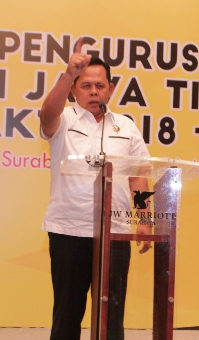 Sambutan Kepala BNN Provinsi Jatim pada Pelantikan Pengurus PERKEMI provinsi Jatim