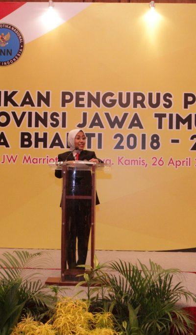 Sambutan Ketua Umum Pengurus PERKEMI Provinsi Jatim pada Pelantikan Pengurus PERKEMI provinsi Jatim